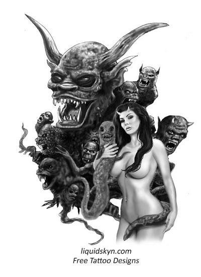 f19b73f5c414d devil_girl_demon_swarm_large. evil demon tattoo flash devil
