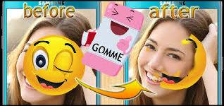برنامج مسح الملصقات من الوجه - برنامج ازالة السمايل من الوجه الصور 2021