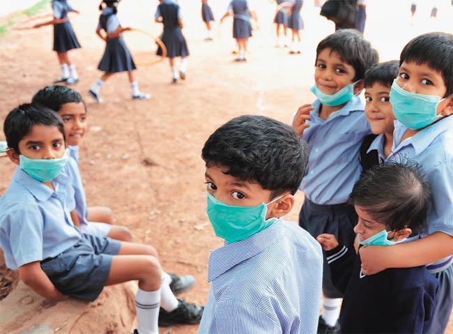 Shield your Kids from Smog & Air Pollution