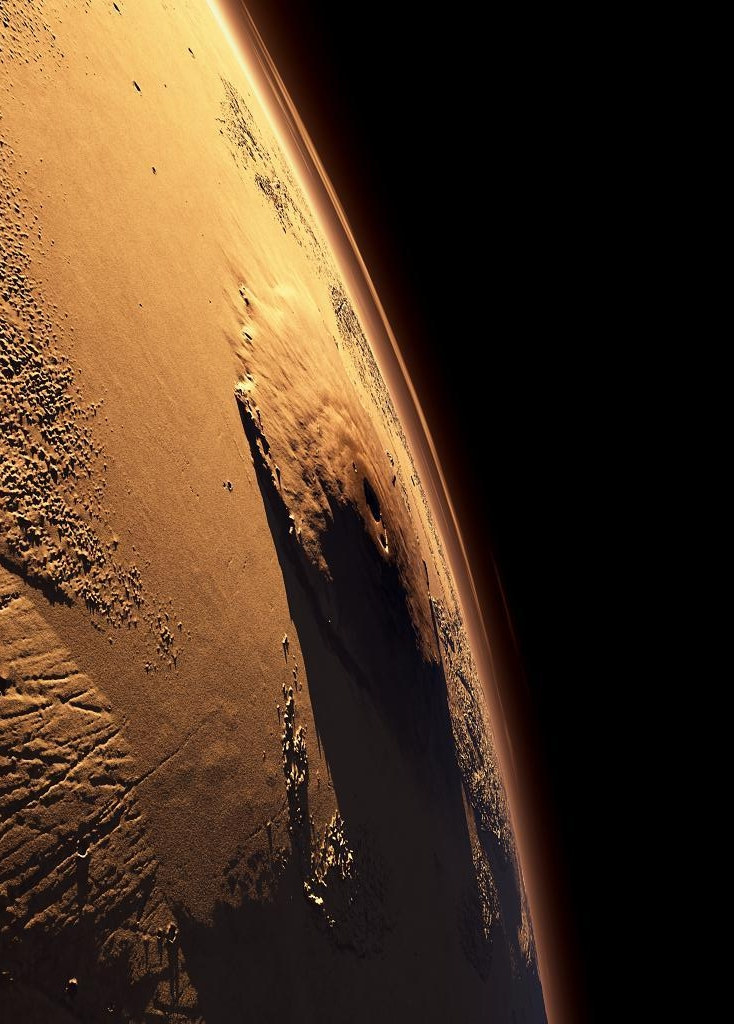 What Does Tc Mean >> daily timewaster: Olympus Mons on Mars