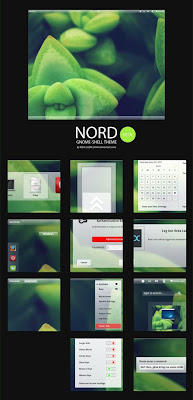 Nord Theme Gnome Shell, Linux, Desktop Enhancements, GNU/Linux, Gnome Stuff
