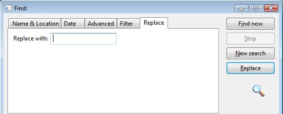 daxline: Replace text option in Find window in Dynamics AX - DAX