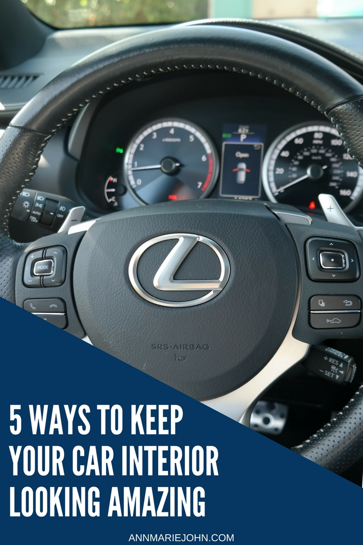 5 ways to keep your car interior looking amazing drivelexus detail your vehicle you can save that money and do it yourself here are a few tips for keeping your cars interior looking and smelling fresh and solutioingenieria Gallery