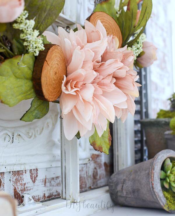 blush pink flowers