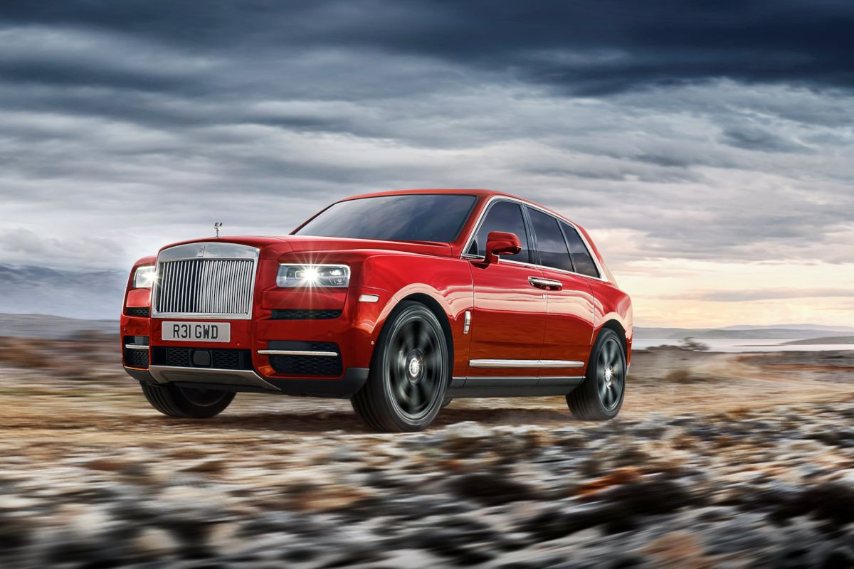 Rolls Royce Launches Cullinan Their First Ever Suv W 17