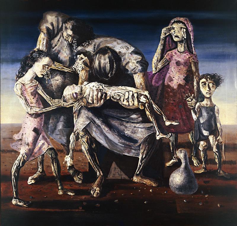 Pintura de Portinari - Criança Morta