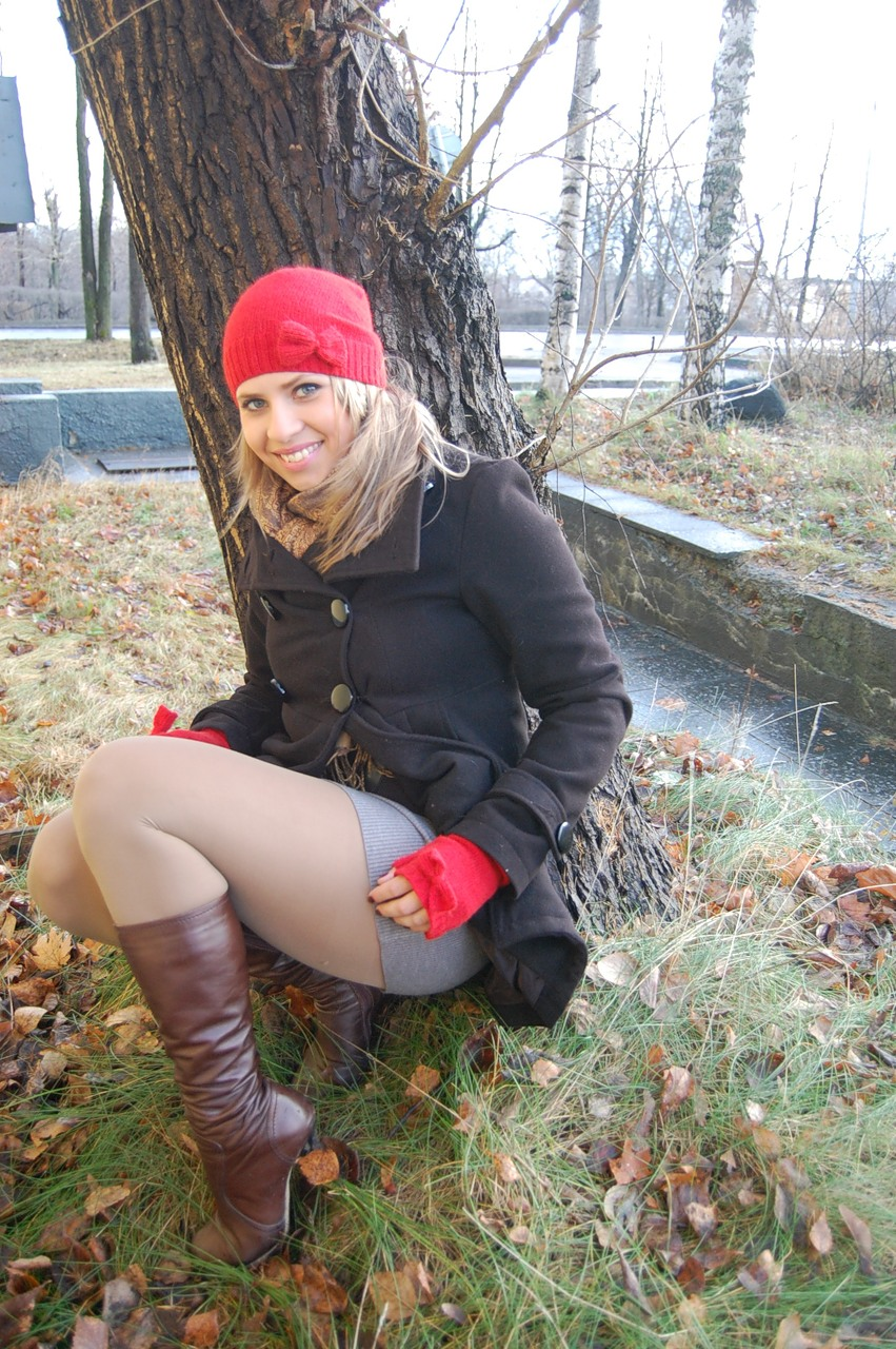 Boots and nylons