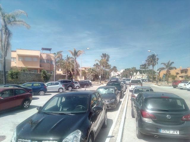 Атлантический океан Playa El Ancla парковка