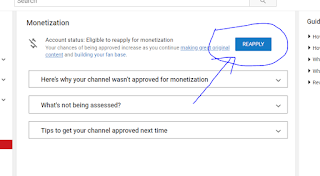 Your-channel-is-no-longer-eligibl- to-monetize-Solution