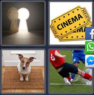 4 fotos 1 palabra cinema perro puerta jugadores de futbol for Puerta 4 fotos 1 palabra