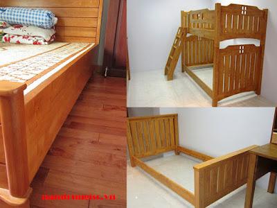 gỗ cao su ghép làm vai giường