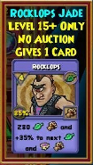 Rocklops - Wizard101 Card-Giving Jewel Guide