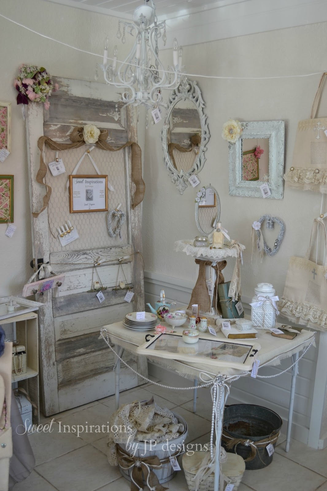 Shabby Chic Shop Sweet Inspirations By Jp Designs: My New Shop Space Is ...