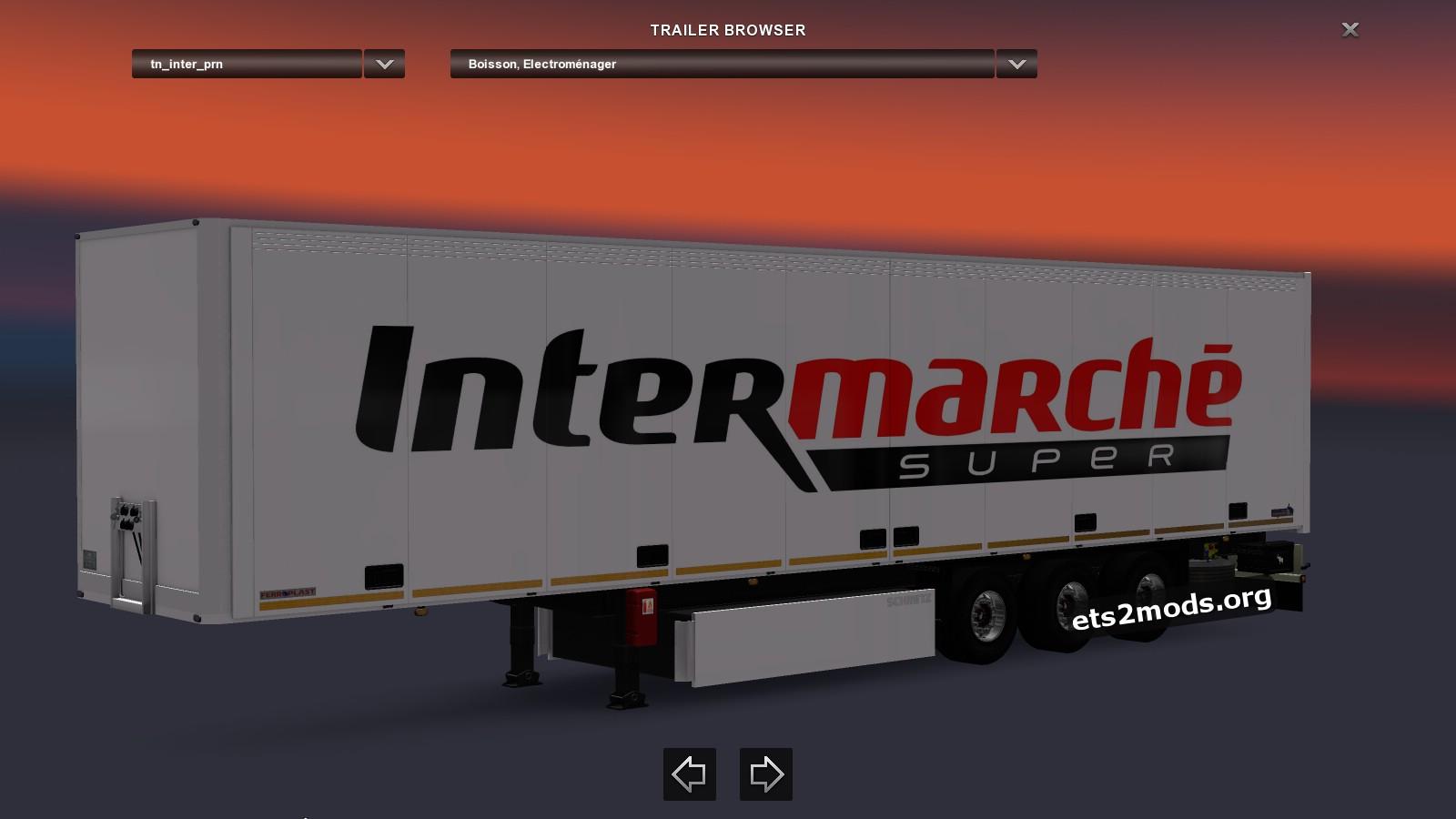 Standalone Trailer InterMarché