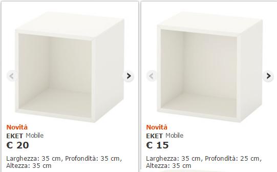 Ikeahackers and eket home shaped for Cubi libreria ikea