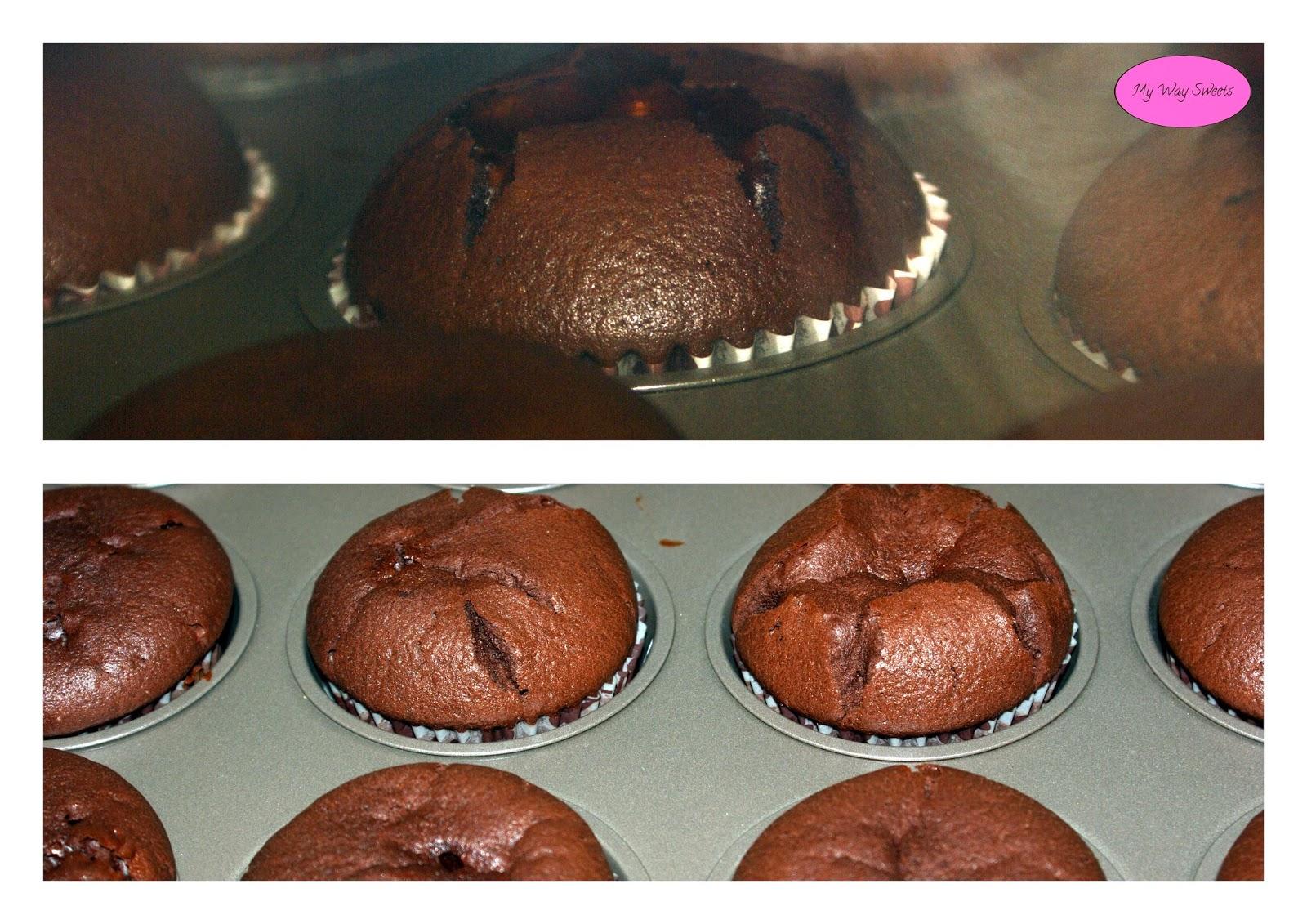 mocno czekoladowe muffiny