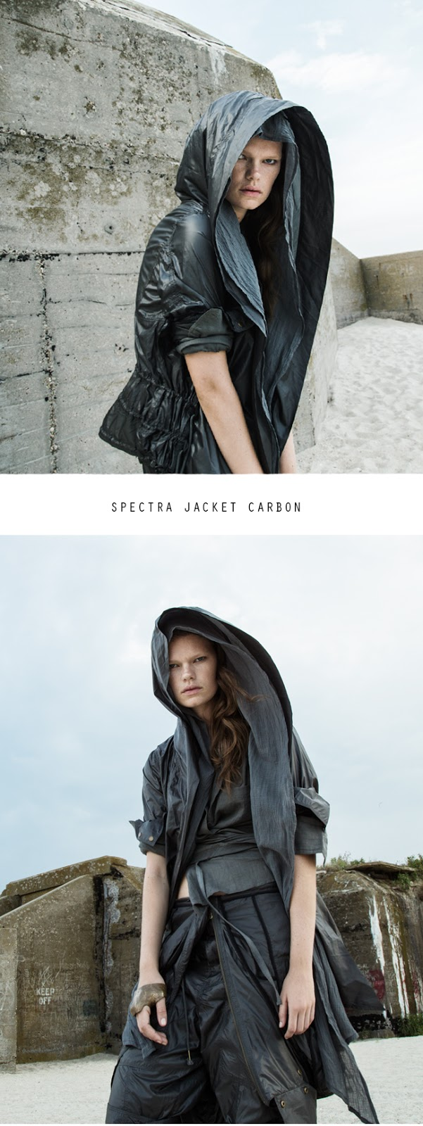 Spectra Jacket Carbon by Nicholas K