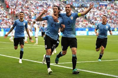 Uruguay líder Grupo A