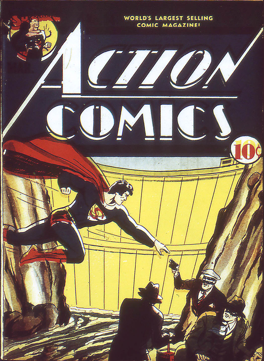 Read online Action Comics (1938) comic -  Issue #34 - 2