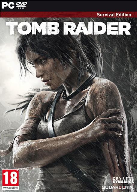 TOMB RAIDER SURVIVAL EDITION 2013 Cover Photo