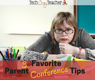 Parent conferences can be scary! Most often they are a dreaded part of our teacher duties. I have put together my 3 favorite Parent Conference Tips! Hopefully these tips will help you face your students' parents with confidence!