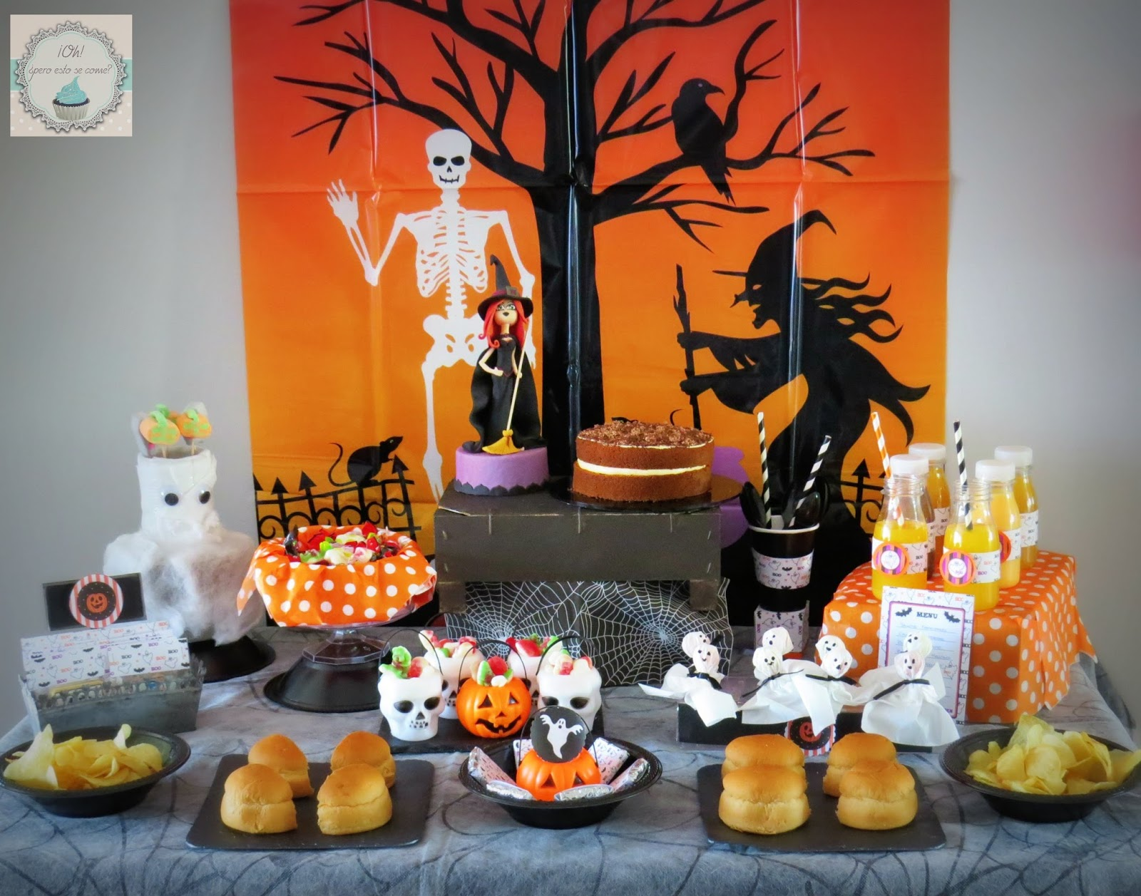 Oh pero esto se come ideas para celebrar halloween - Ideas decoracion halloween fiesta ...