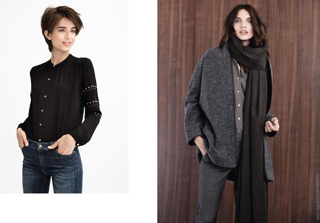 Moda otoño invierno 2018 ropa de moda mujer.