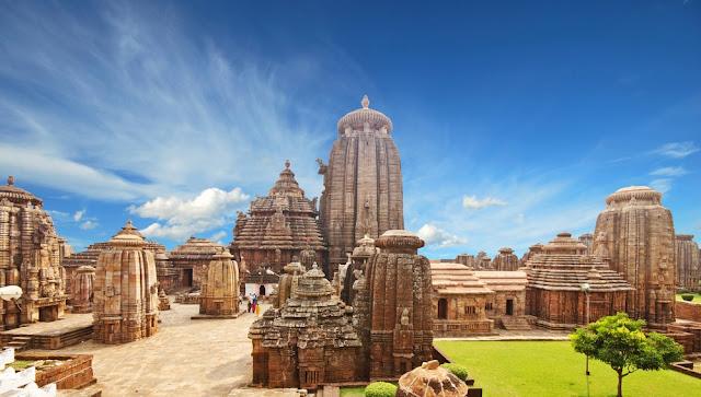 Lingaraj Tapınağı/Hindistan-Orissa