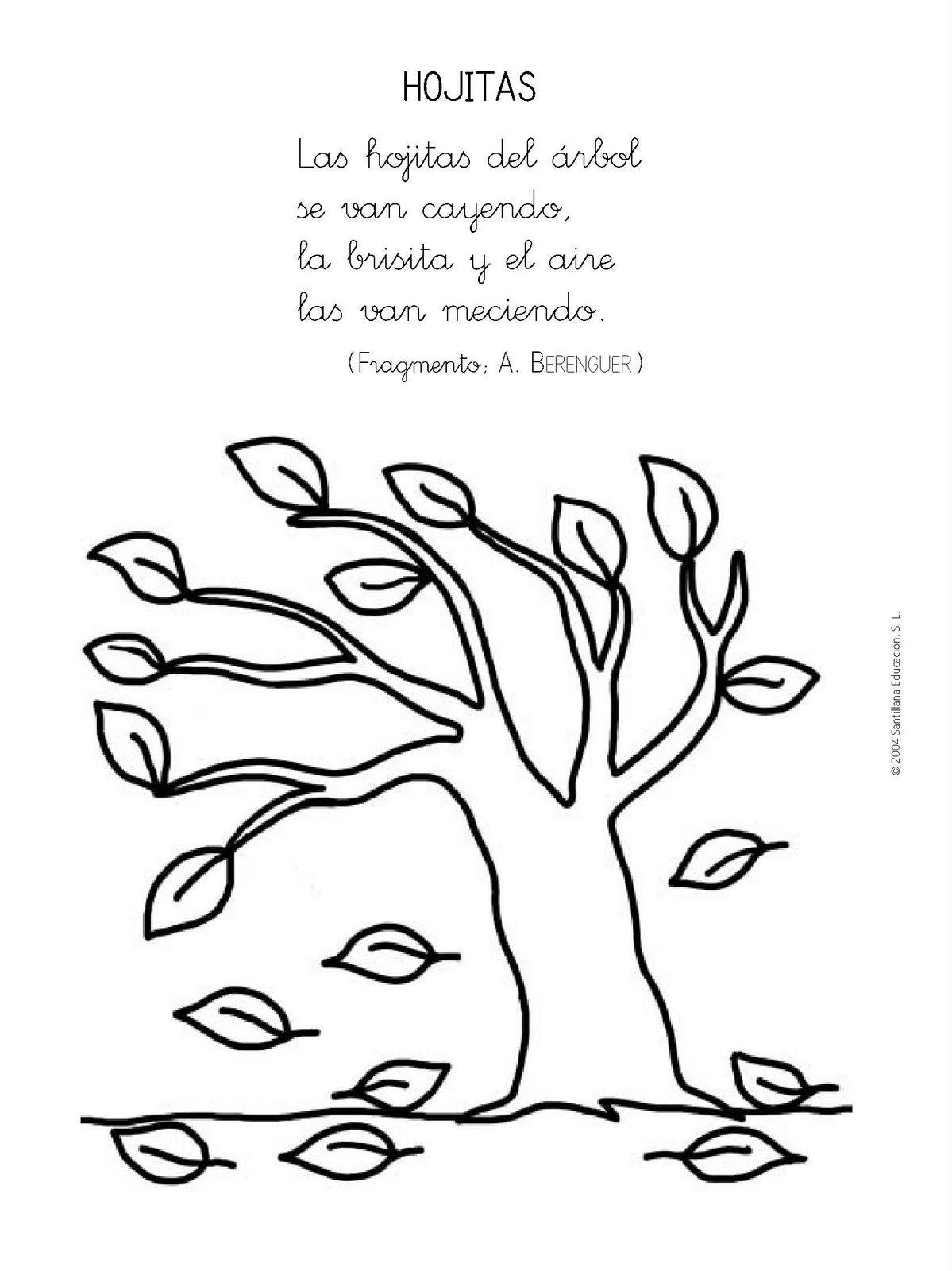 Trabajando en Educación Infantil: 10 poesías para el otoño