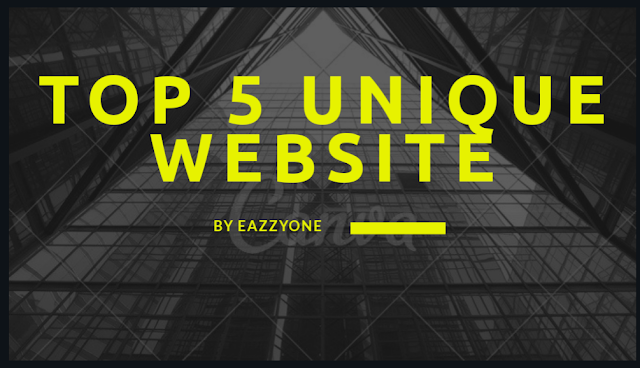 Top 5 unique website