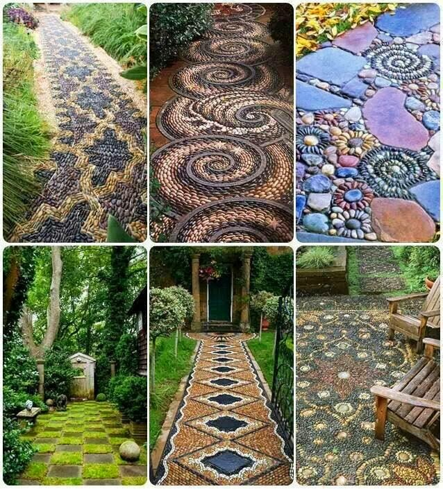 Garden Design Ideas: Lovely Stone Pathway