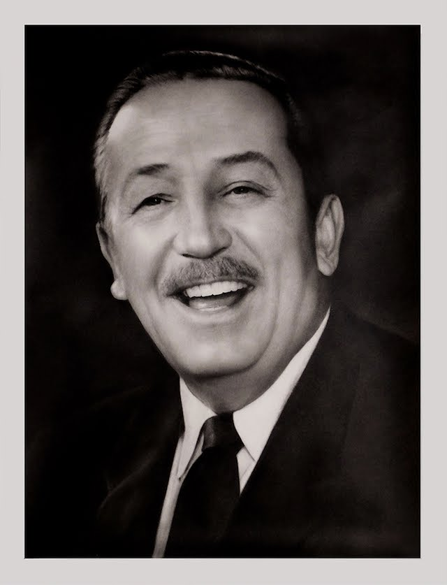 Disney And More Great Portrait Of Walt Disney In Auction On Ebay