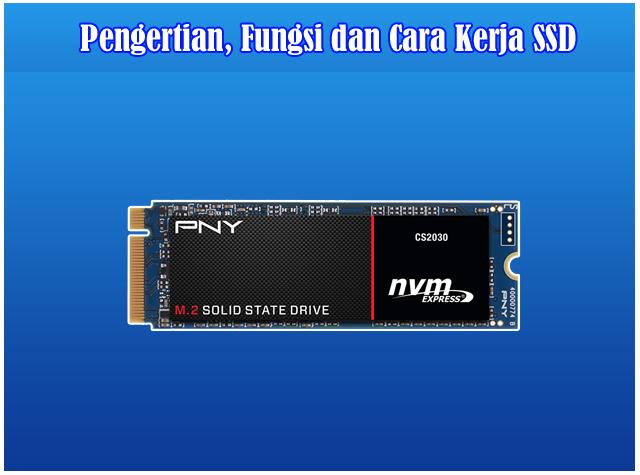 Pengertian, Fungsi dan Cara Kerja SSD ( Solid State Drive )