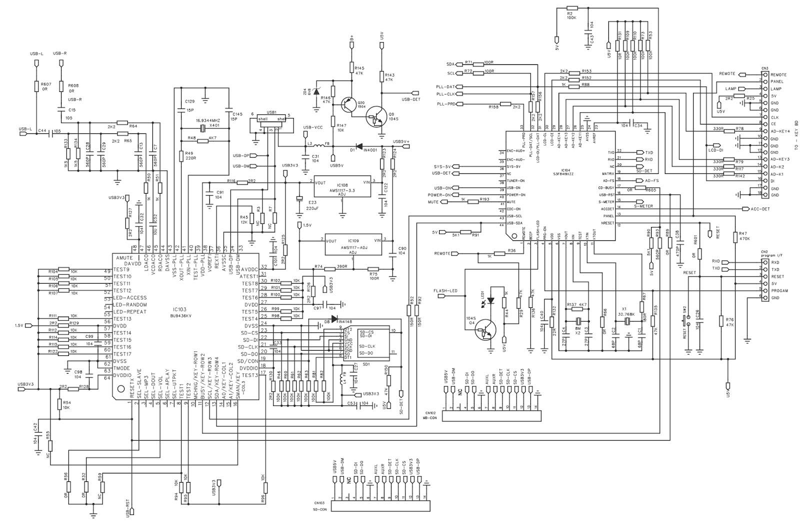 tda7388 circuit diagram