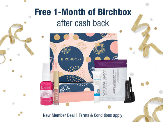 How to get a month of Birchbox for FREE!