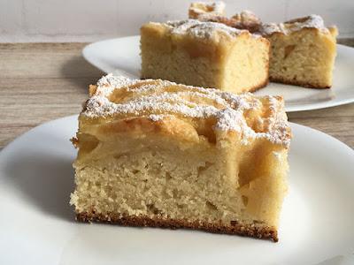 Ciasto z jabłkami bez miksowania