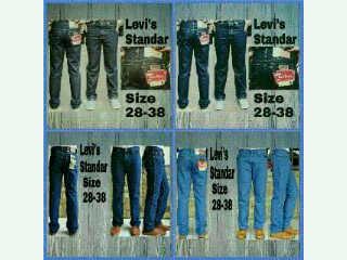 Celana jeans pria levis reguler