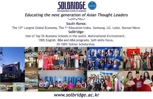 Chương trình học quản trị kinh doanh Đại học Solbridge Hàn Quốc