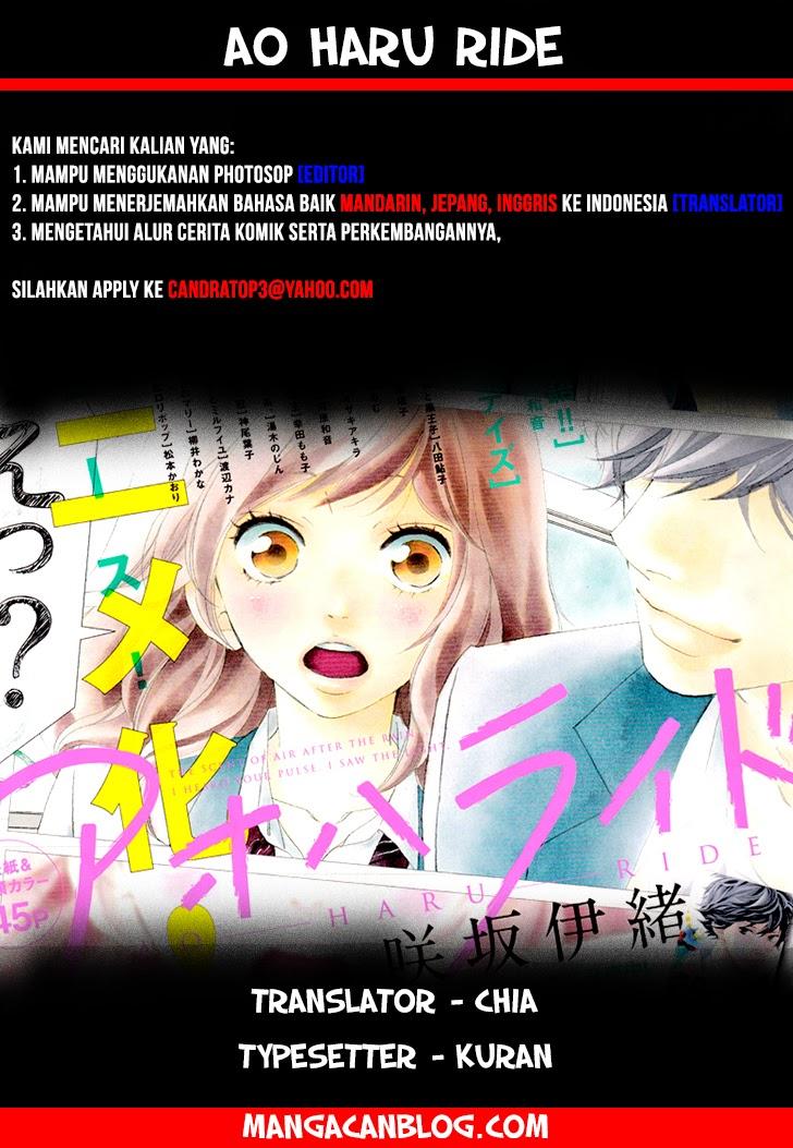 Ao Haru Ride Chapter 36-1