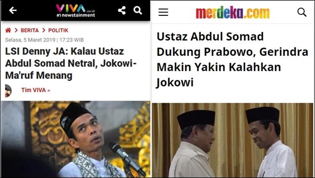 Prediksi LSI Denny JA akan Terbukti, Jokowi-Maruf Terjungkal