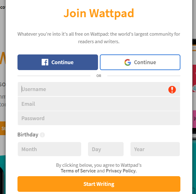 Publish Your 500 Word Draft on World Water Day 2019 in Wattpad!