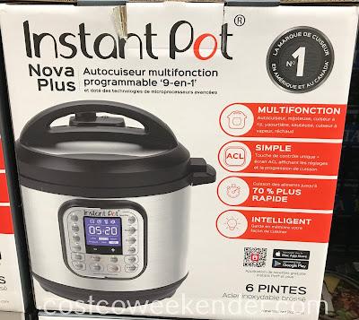 Pressure cook safely with the Instant Pot Nova Plus 6qt Pressure Cooker