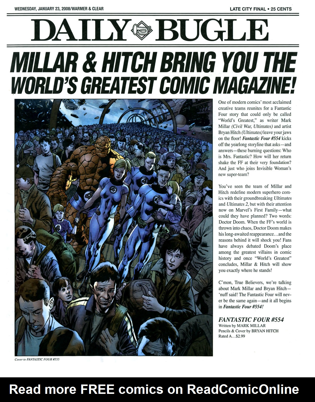 Read online Daily Bugle (2006) comic -  Issue #17 - 2