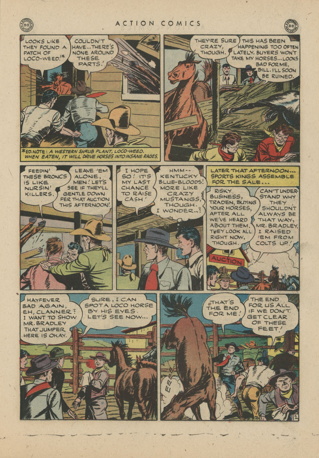 Read online Action Comics (1938) comic -  Issue #83 - 23