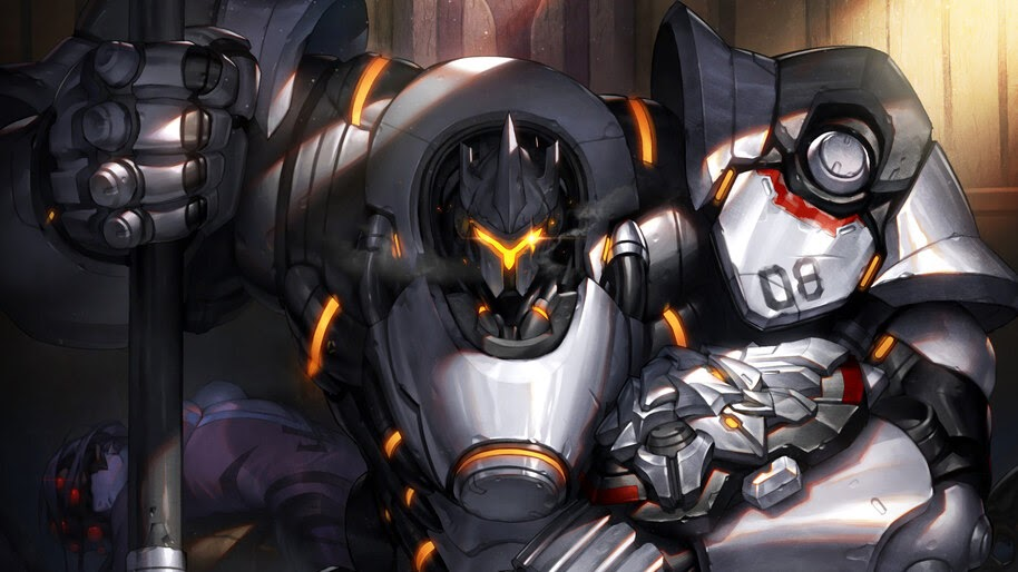 Reinhardt Overwatch 4k Wallpaper 315