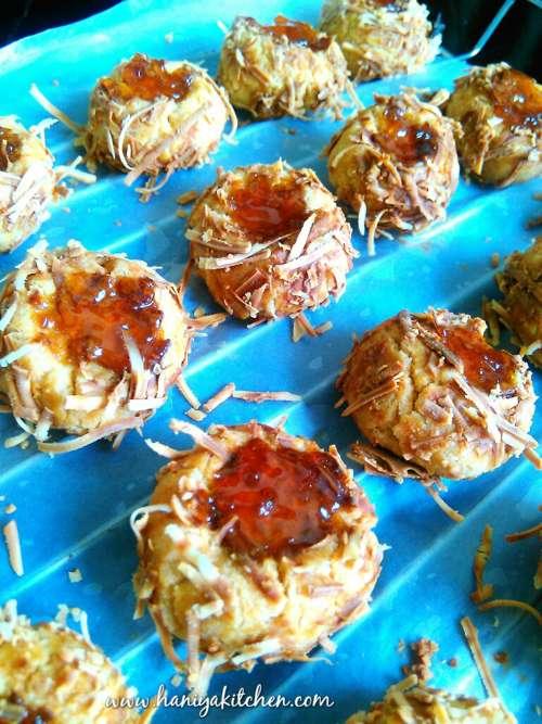 Resep Crunchy Pineapple Cheese Thumbprint Cookies Awet Renyah