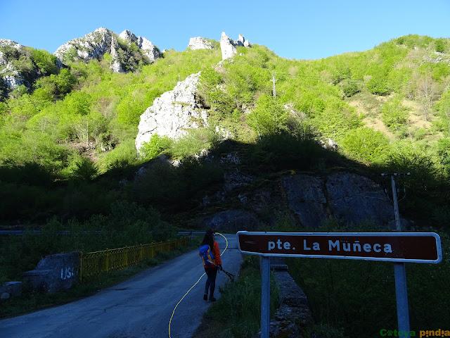 Atravesamos el puente La Muñeca