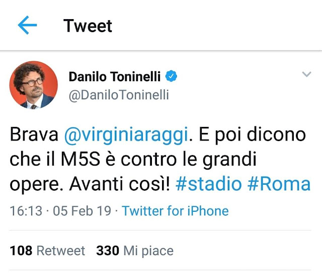 Stadio della Roma: I tifosi verranno paracadutati direttamente in curva?