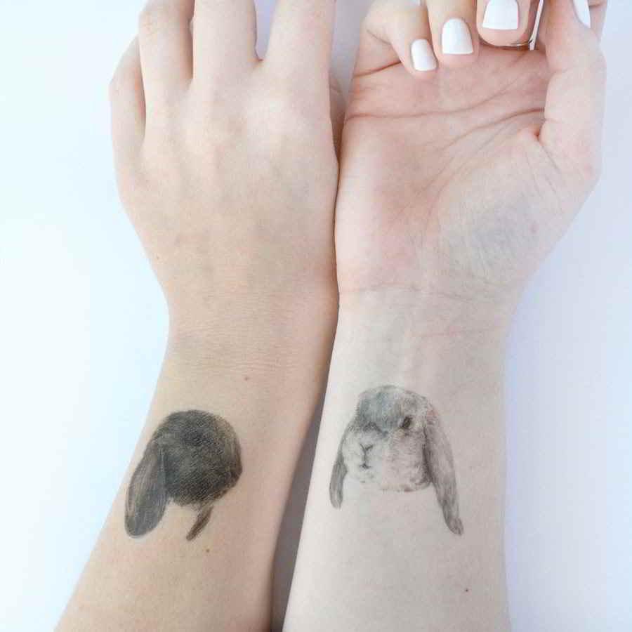 tatuajes de conejitos