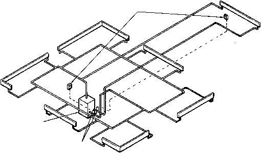mitsubishi diagrama de cableado de las luces